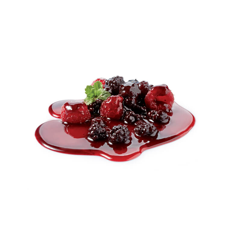 FOREST FRUITS IN SYRUP