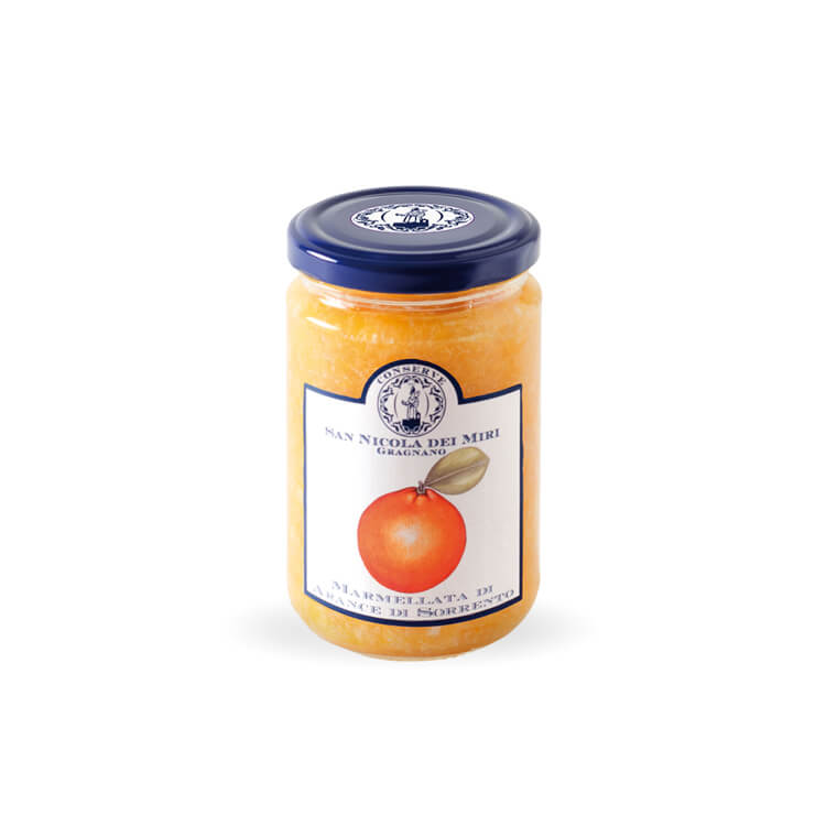 JAM MADE FROM<br>ORANGES OF SORRENTO
