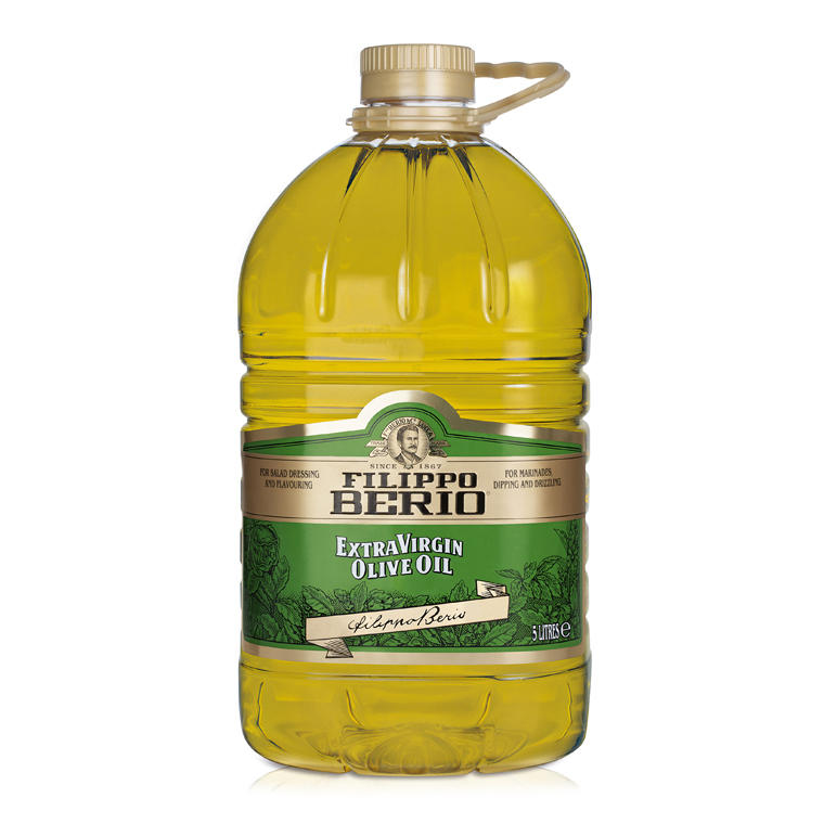 «BERIO»<br>EXTRA VIRGIN OLIVE OIL 5l