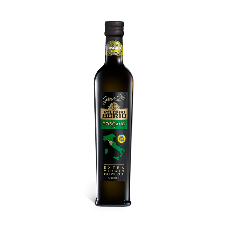 «BERIO»<br>EXTRA VIRGIN OLIVE OIL 0,5l grand cru toscano