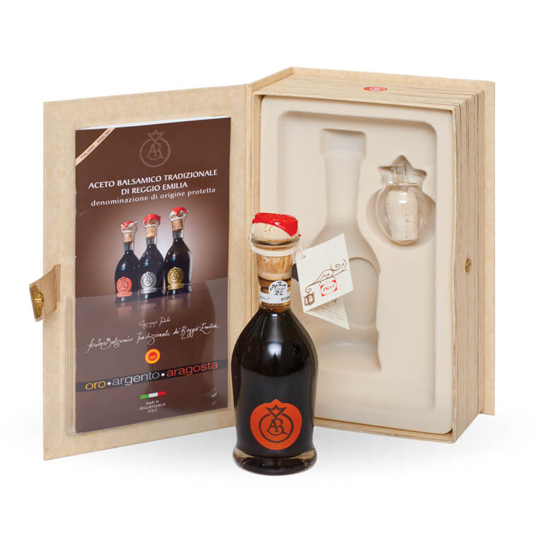 TRADITIONAL BALSAMIC VINEGAR<br>OF REGGIO EMILIA